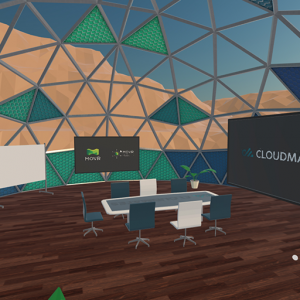 Virtuelle Haus-Messe